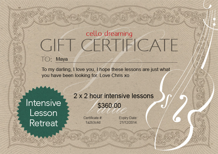 Gift-Certificate-IndividualLessons-Template