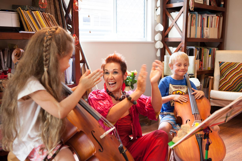 Cello Student Teaching